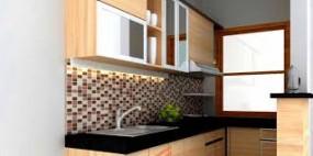 Makin Cantik Dengan Kitchen Set Granit Lunarfurniture Com